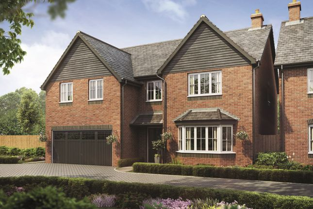 Thumbnail Detached house for sale in Bramshall Road, Bramshall, Uttoxeter