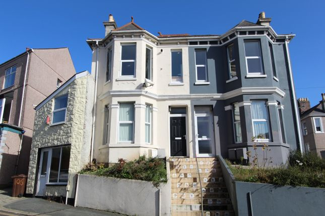 Thumbnail Terraced house for sale in Two Self Contained Flats, Hyde Park Road, Plymouth