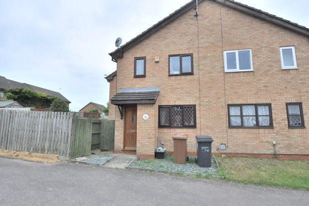 Thumbnail Semi-detached house to rent in Hedgeway, Northampton