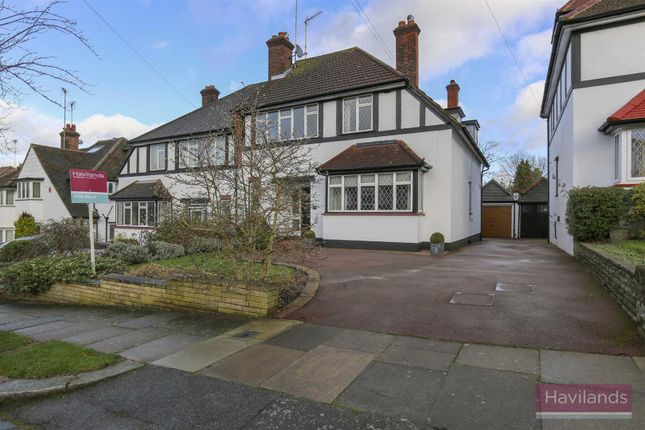 Thumbnail Semi-detached house for sale in Broadfields Avenue, London