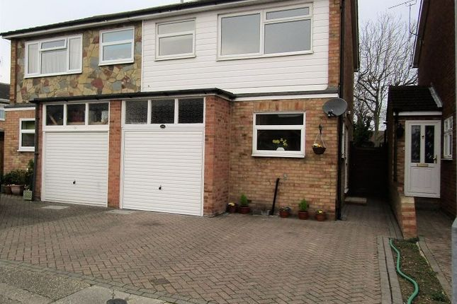 Thumbnail Semi-detached house for sale in Kathleen Close, Stanford-Le-Hope, Essex.