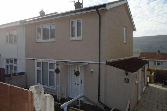 Thumbnail Semi-detached house to rent in Capel Newydd Avenue, Blaenavon, Pontypool