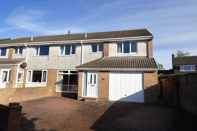 Thumbnail Semi-detached house for sale in Springfields, Wigton, Cumbria