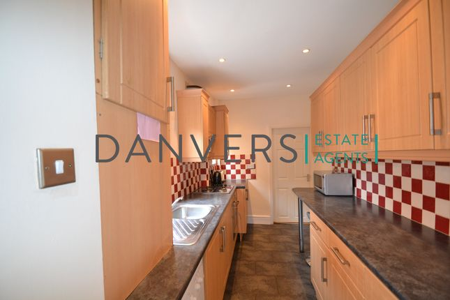 Thumbnail End terrace house to rent in Clarendon Street, Leicester