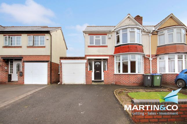 Thumbnail Semi-detached house for sale in Elsma Road, Oldbury