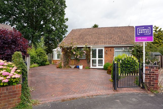 Thumbnail Detached bungalow for sale in Milton Drive, Poynton