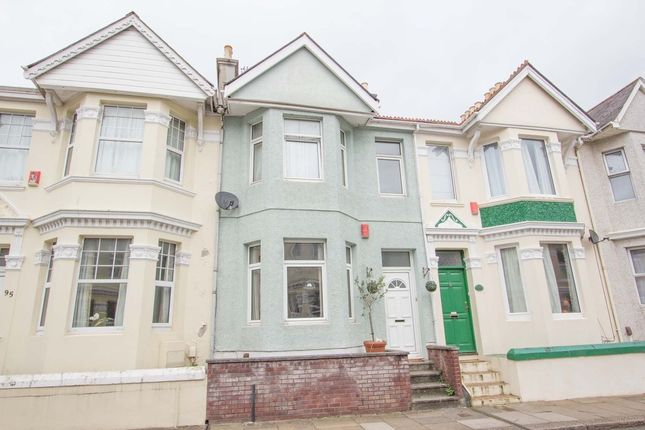 2 bed terraced house for sale in Knighton Road, St Judes, Plymouth