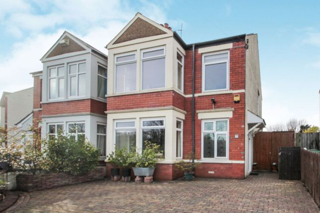 Thumbnail Semi-detached house for sale in Crystal Avenue, Heath