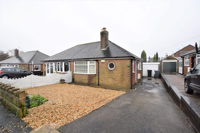 Thumbnail Semi-detached bungalow for sale in Fearns Avenue, Bradwell, Newcastle-Under-Lyme