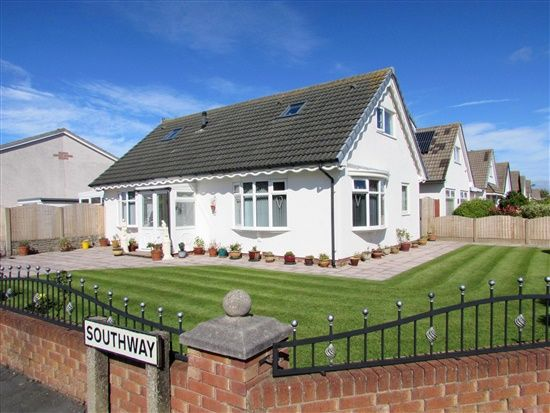 Thumbnail Bungalow for sale in Southway, Fleetwood