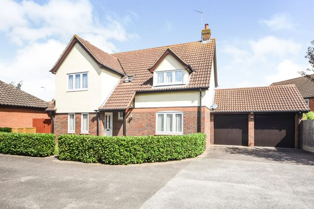 Thumbnail Detached house for sale in Sandford Mill Road, Chelmer Village, Chelmsford