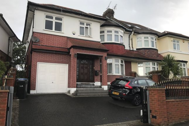 Thumbnail Semi-detached house to rent in Minchenden Crescent, Southgate, London