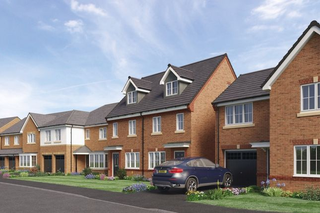 Thumbnail Detached house for sale in The Glenmuir, Barley Meadows, Cramlington, Northumberland