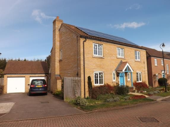 Thumbnail Detached house for sale in Goldfinch Drive, Sandy, Bedforshire