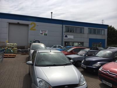 Thumbnail Light industrial to let in Unit 2, The Io Centre, 59-71 River Road, Barking, Essex