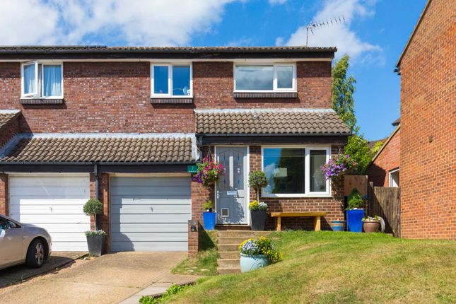 Thumbnail Semi-detached house for sale in Mortain Drive, Northchurch, Berkhamsted
