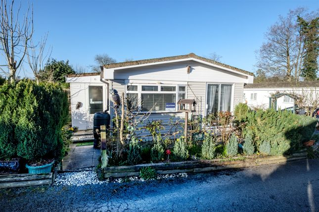 Thumbnail Mobile/park home for sale in 15 Ash Way, Caerwnon Park, Builth Wells