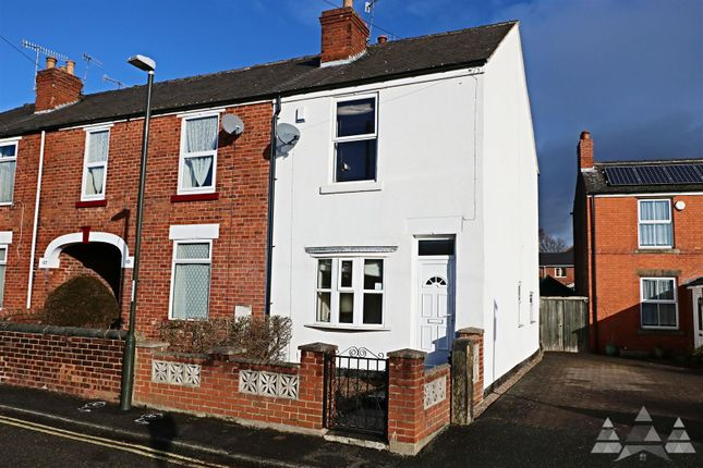 Thumbnail End terrace house to rent in Barker Lane, Brampton, Chesterfield, Derbyshire