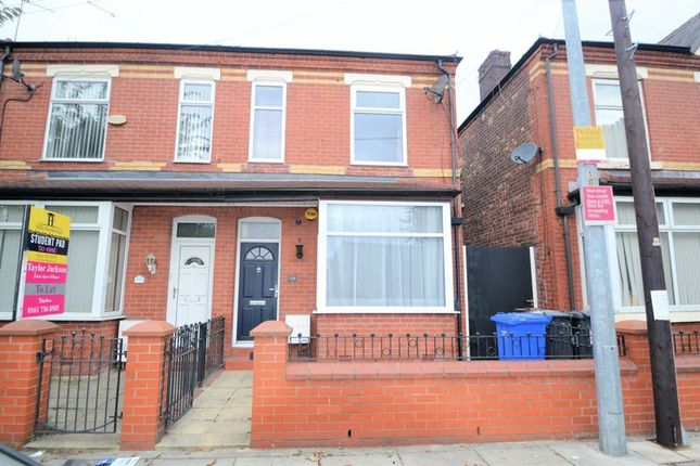 Thumbnail Semi-detached house to rent in Seaford Road, Salford