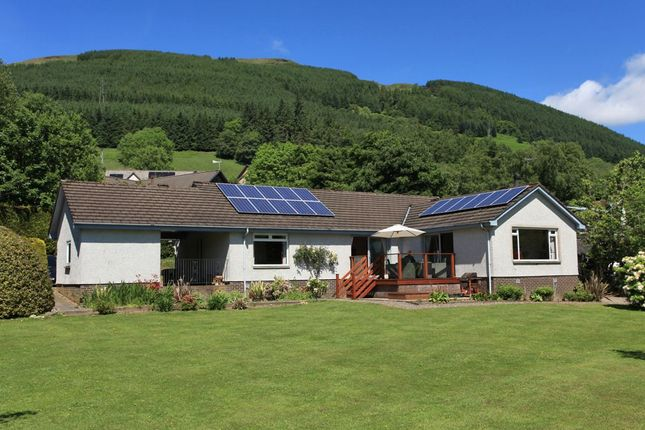 Thumbnail Detached bungalow for sale in Lochearnhead