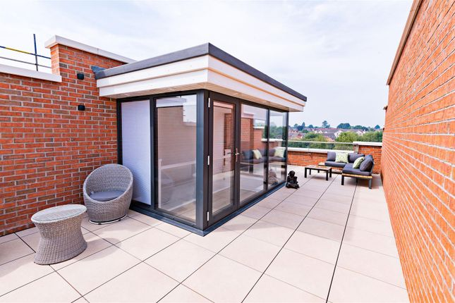 Roof Terrace of Primrose Terrace, St. Michaels Street, Shrewsbury SY1