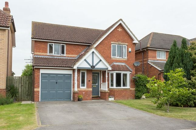 Thumbnail Detached house for sale in Adlington Close, Strensall, York