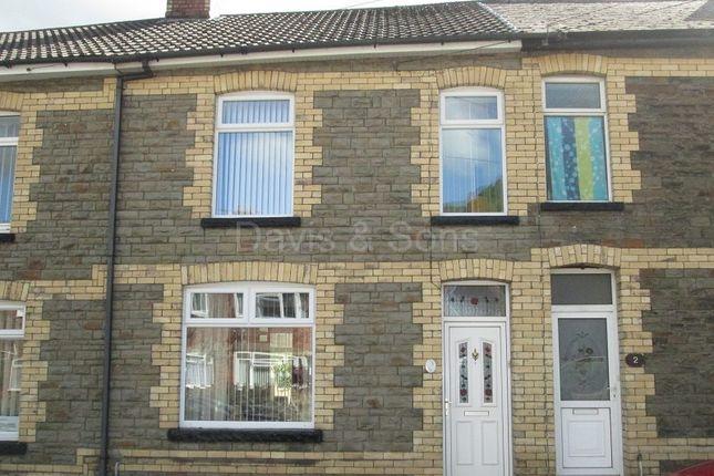 Thumbnail Terraced house for sale in Edward Street, Cwmcarn, Newport.