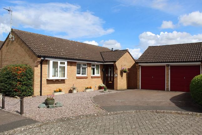 Thumbnail Detached bungalow for sale in Trubshaw Court, Churchdown, Gloucester