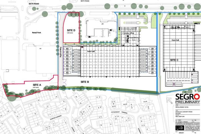 Thumbnail Industrial to let in Plot D, 225 Bath Road, Slough