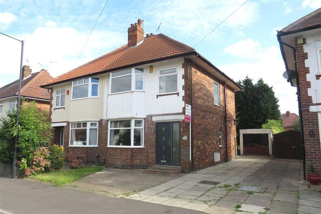 Thumbnail Semi-detached house for sale in Farm Drive, Alvaston, Derby
