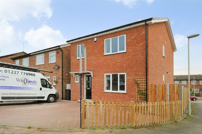 Thumbnail Detached house for sale in Vinten Close, Herne, Herne Bay, Kent