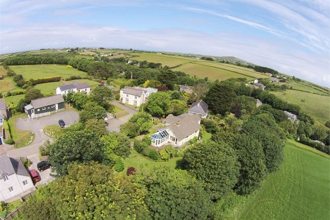 Thumbnail Detached bungalow for sale in Banns Road, Mount Hawke, Truro