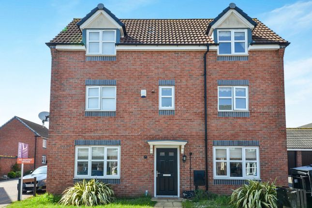 Thumbnail Detached house to rent in Girton Way, Mickleover, Derby