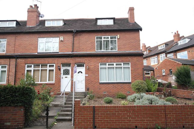 Thumbnail Town house to rent in Avenue Crescent, Leeds, West Yorkshire