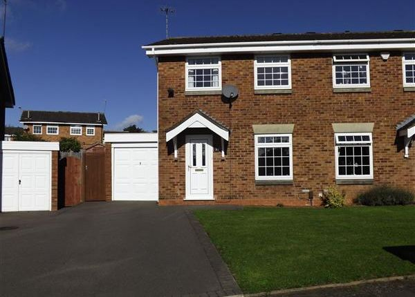 Thumbnail Semi-detached house to rent in Lydney Close, Redditch, Church Hill, Redditch