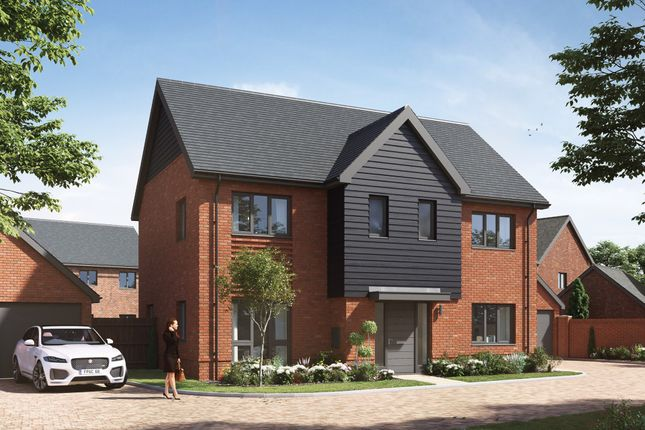 """Thumbnail Detached house for sale in """"Stratford"""" at Old Wokingham Road, Crowthorne"""