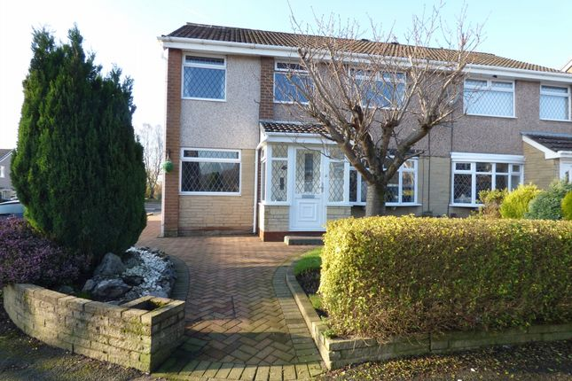 Thumbnail Semi-detached house to rent in Thornham Drive, Astley Bridge, Bolton