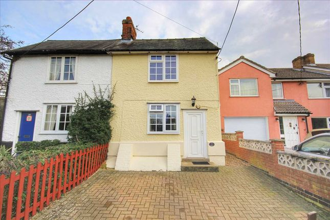 Thumbnail 2 bed semi-detached house for sale in Hunts Hill, Glemsford, Sudbury