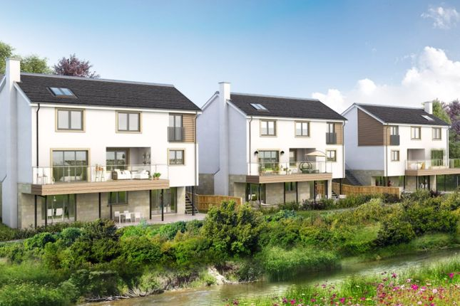Thumbnail Detached house for sale in Riverbank Gardens, Field Road, Busby, Glasgow