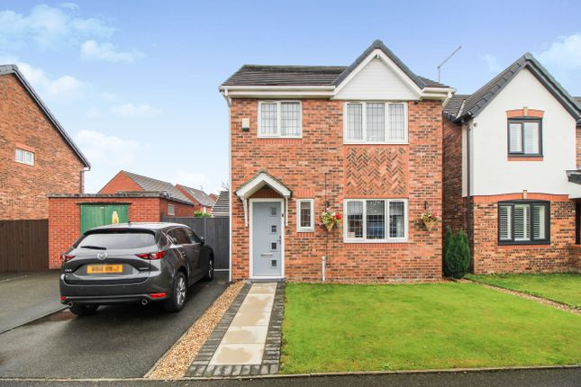 Thumbnail Detached house for sale in Saxon Way, Kirkby, Liverpool