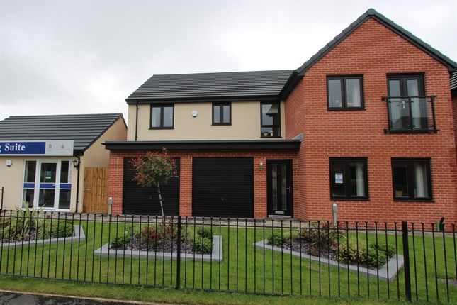"""Thumbnail Detached house for sale in """"The Fenchurch"""" at Llantrisant Road, Capel Llanilltern, Cardiff"""