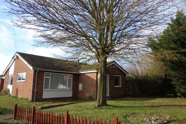 Thumbnail Detached bungalow to rent in St. Nicholas Drive, Feltwell