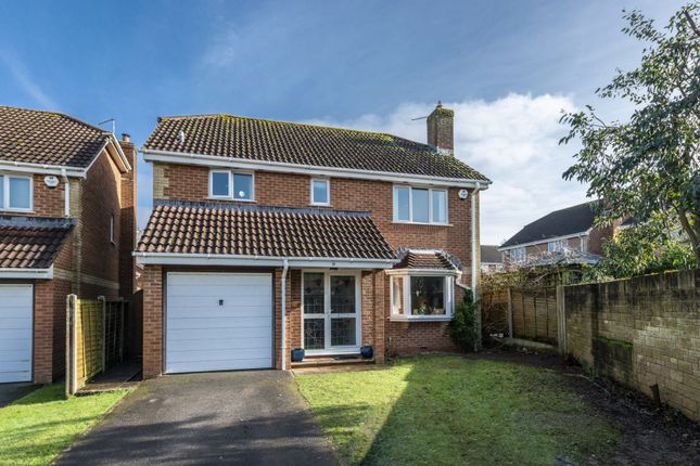 Thumbnail Detached house for sale in Coppice Close, Yeovil