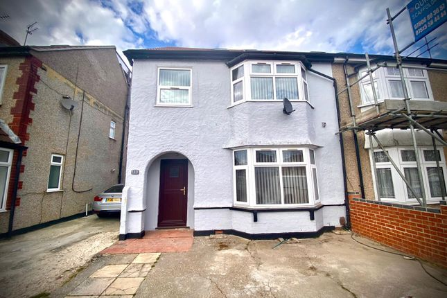 Thumbnail Semi-detached house to rent in North Hyde Road, Hayes