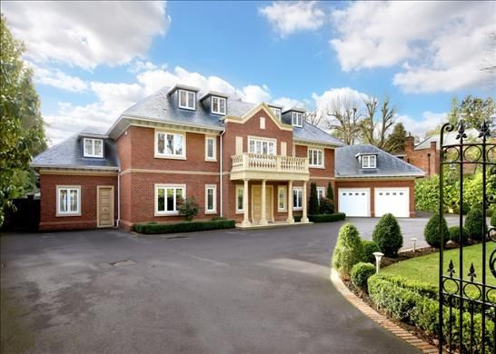 Thumbnail Detached house for sale in Christchurch Road, Wentworth, Surrey
