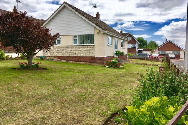 Thumbnail Detached bungalow for sale in Brunel Close, Bleadon, Weston-Super-Mare