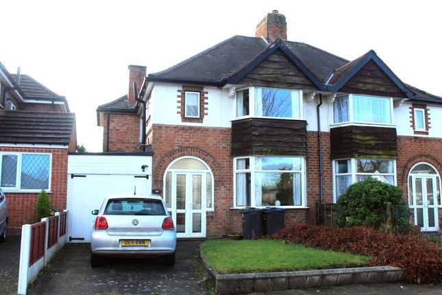 Semi-detached house for sale in Arden Road, Acocks Green, Birmingham