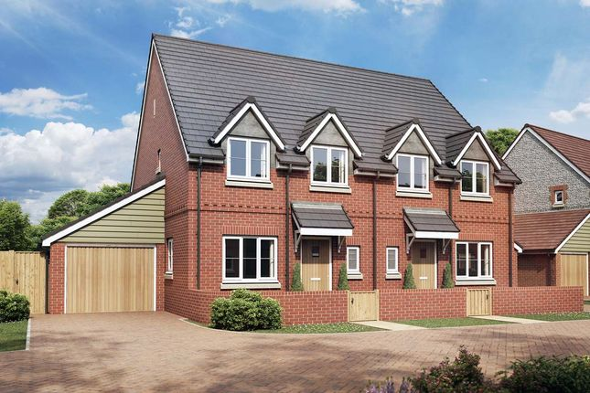 Thumbnail Semi-detached house for sale in The Amaryllis, Hartley Meadows, Whitchurch, Hampshire