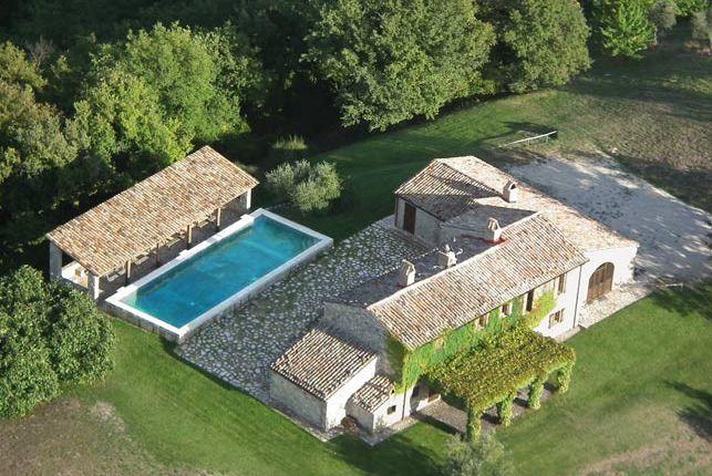 Villa Pianesante, Collelungo, Todi, Umbria