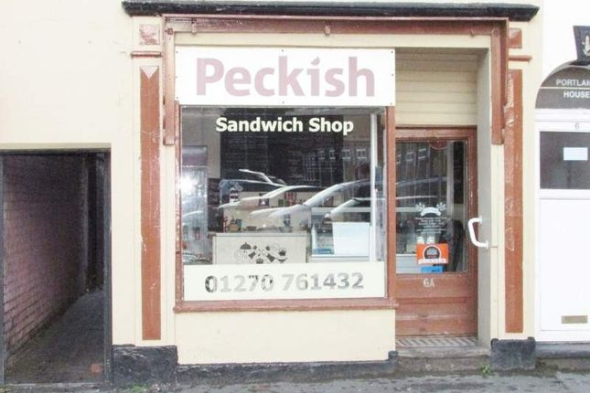 Retail premises for sale in 6A Bradwell Road, Sandbach